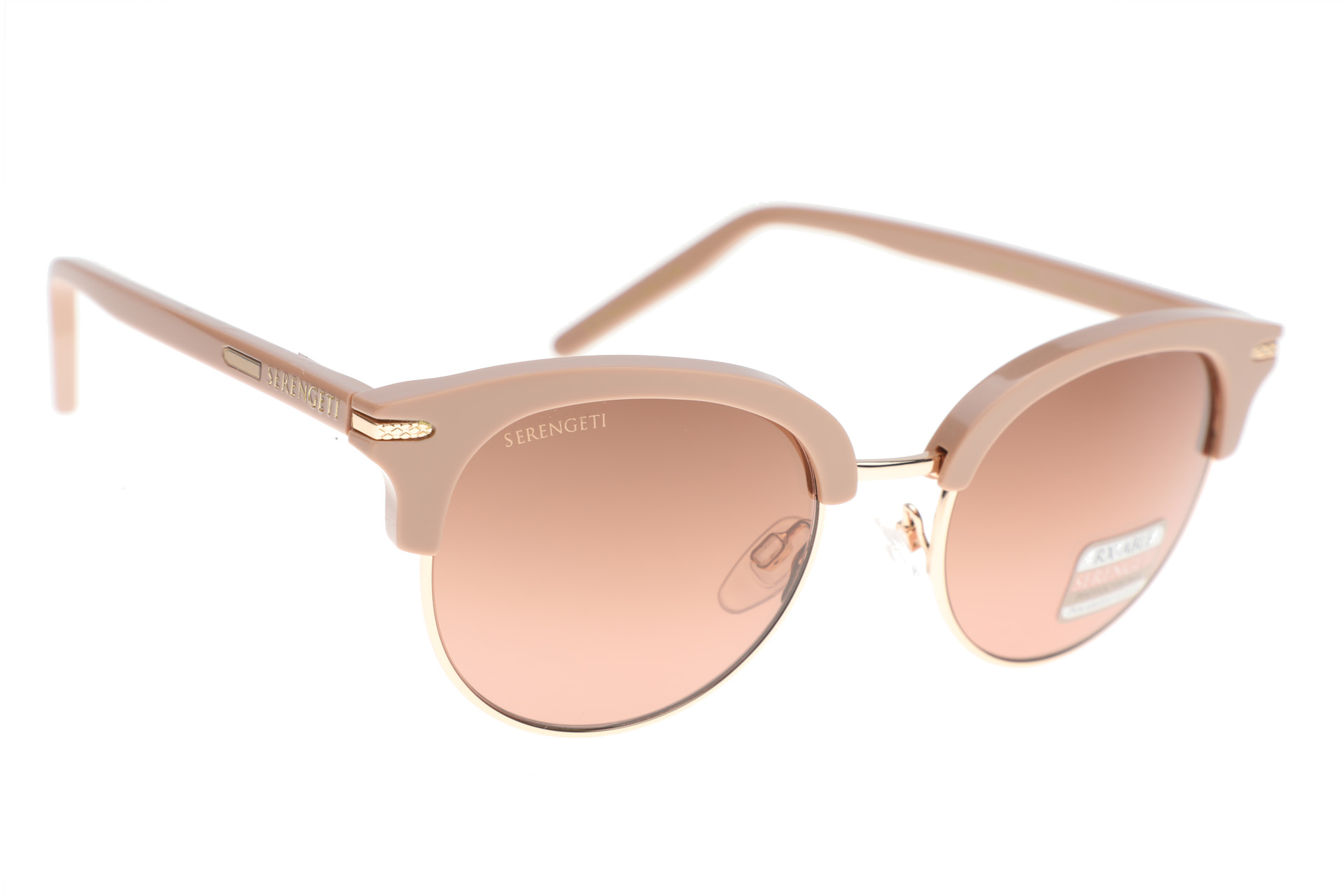 Serengeti Lela 8940 (Shiny Rose / Shiny Gold) Gepolariseerd