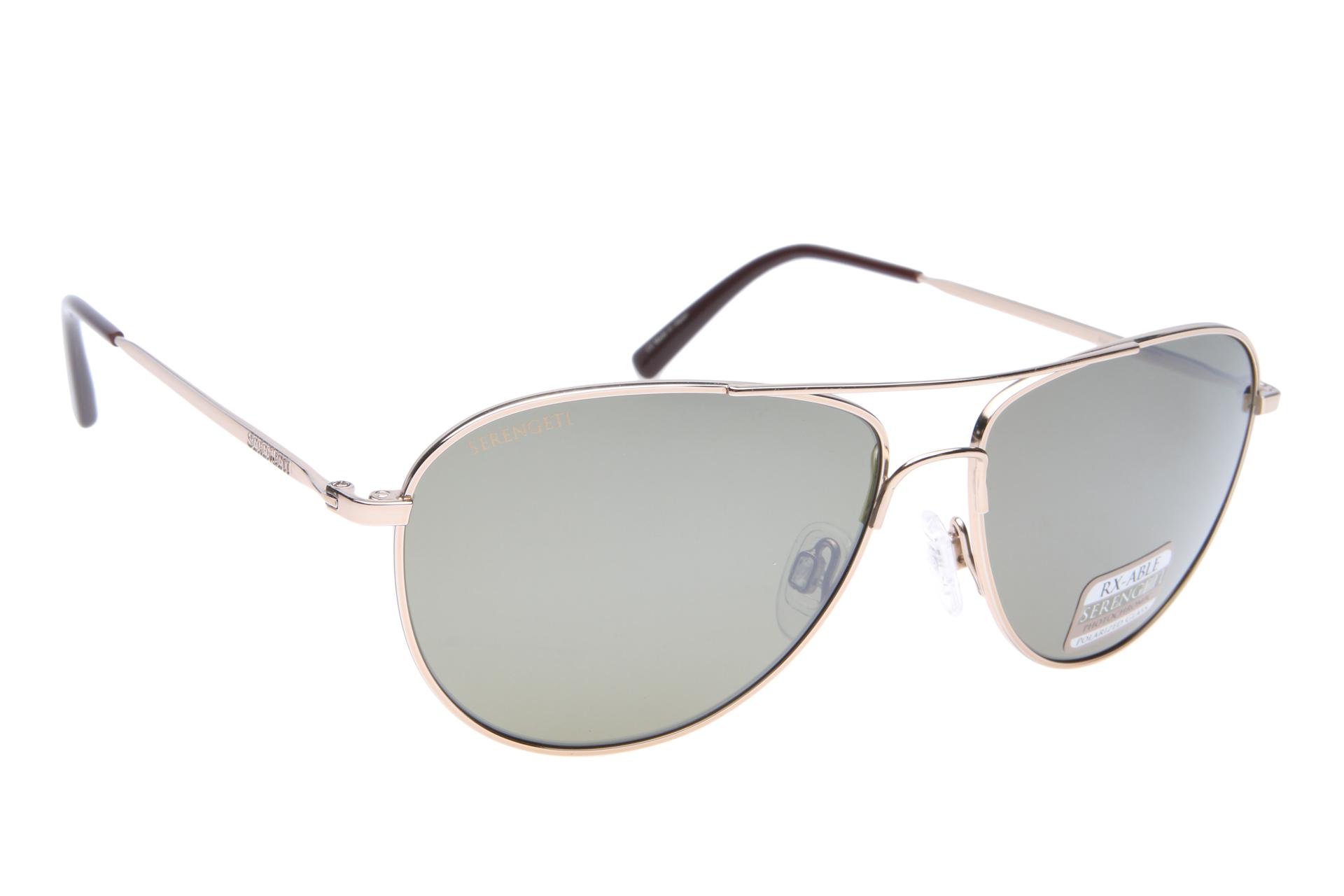fcf76d05164416 Serengeti Alghero 8542 (Shiny Soft Gold) Gepolariseerd zonnebril
