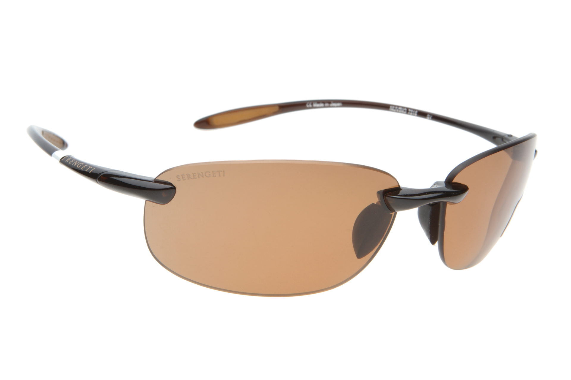 Serengeti Nuvino 7316 (Shiny  Brown) Gepolariseerd