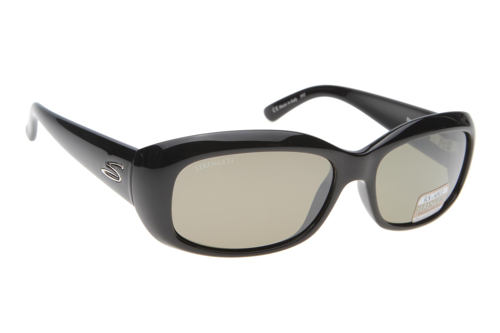 5055feda19cd6f Serengeti Bianca 7364 (Shiny Black) Gepolariseerd zonnebril