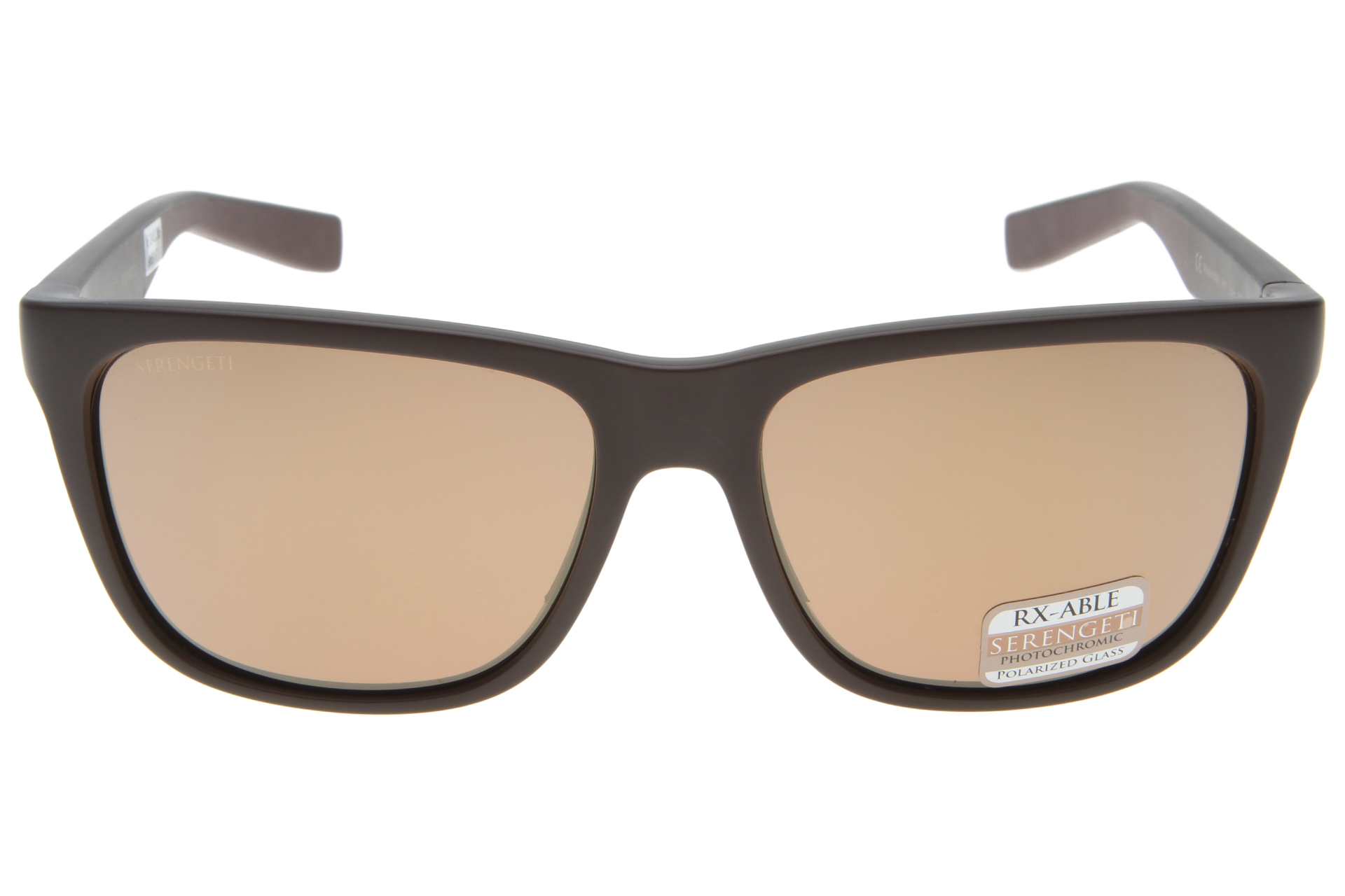 Serengeti Livio 8684 (Sanded Brown/Dark Brown) Gepolariseerd, Spiegelcoating