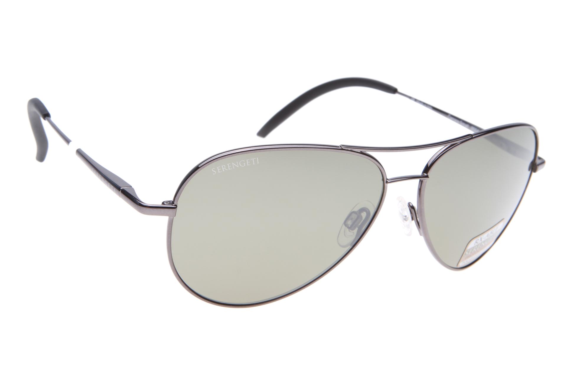 7646f7f29d4939 Serengeti Carrara Small 8554 (Shiny Gunmetal) Gepolariseerd zonnebril