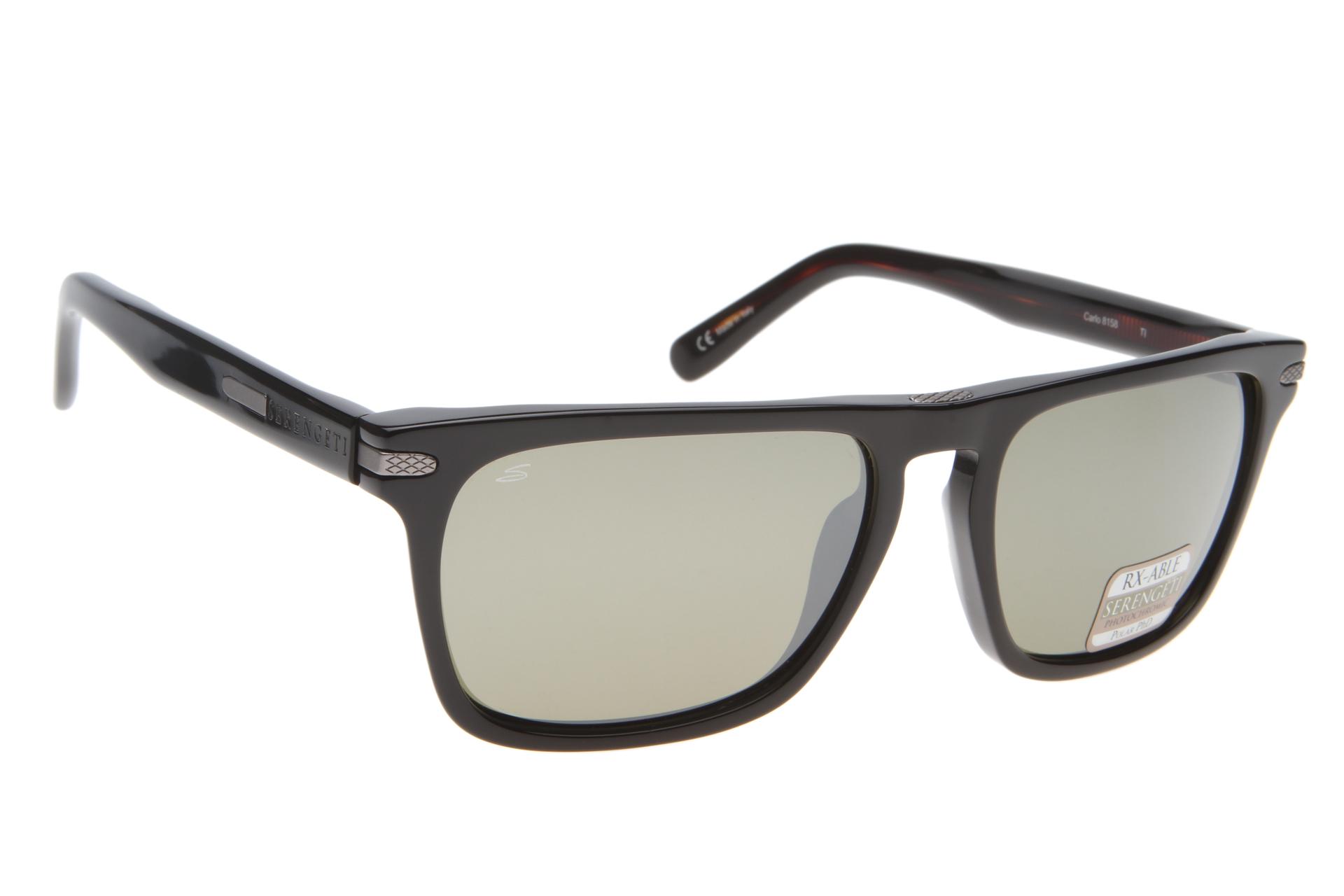 92397bfcf4b Serengeti Carlo 8158 (Shiny Black) Gepolariseerd zonnebril