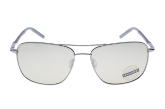 Serengeti Spello 8798 (Shiny Gunmetal/Black/Gray) Gepolariseerd