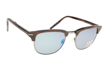 Serengeti Alray 8944 (Shiny Wood Grain / Shiny Dark Gunmetal) Gepolariseerd