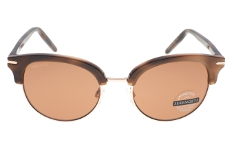 Serengeti Lela 8941 (Shiny Brown / Shiny Rose Gold) Gepolariseerd