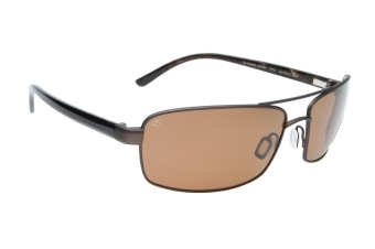 Serengeti San Remo 7609 (Satin Dark Brown/Black Tortoise) Gepolariseerd