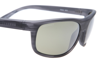 Serengeti Alessio 8675 (Soft Touch/Striped Grey) Gepolariseerd