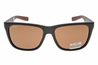 Serengeti Egeo 8680 (Sanded Brown/Dark Brown) Gepolariseerd, Spiegelcoating